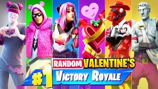 The *RANDOM* VALENTINE Challenge in Fortnite!