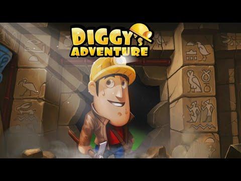 Sempre ter energia no jogo Diggy's Adventure