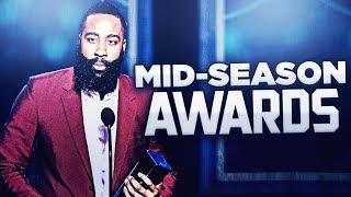 NBA MID-SEASON AWARD SHOW!