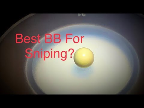 Best Airsoft BB For Snipers?