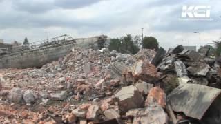 Wybuch komina kotłowni - Kutno, 05.08.2016.