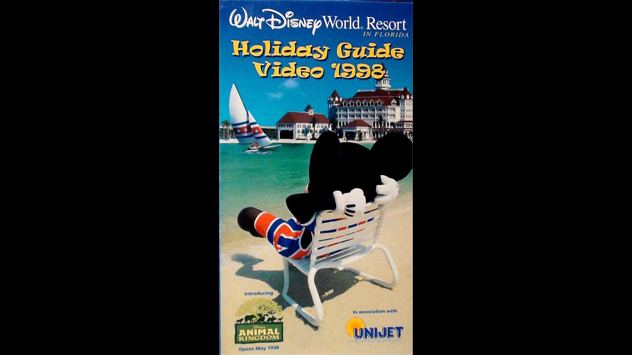 Walt Disney World Resort Vacation Holiday Guide Video 1998 (UK VHS ...