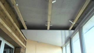 видео Правильная отделка балкона вагонкой