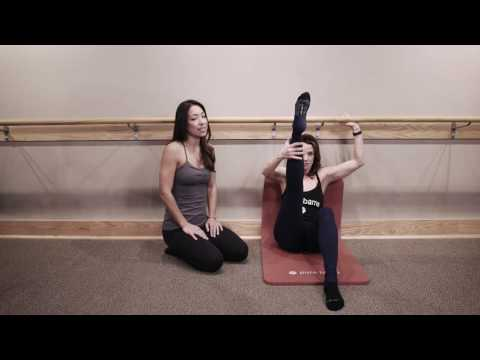 Technique Tip: How to properly position your hand in ab work under the barre.