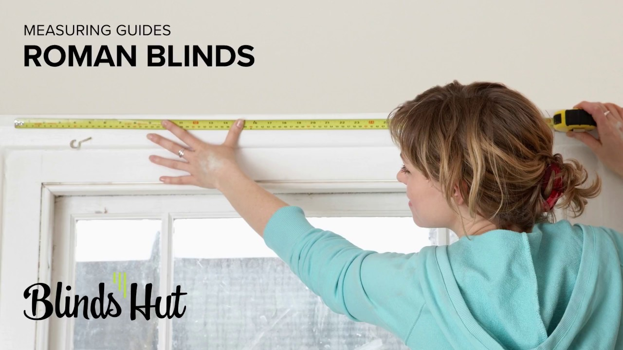 Measuring Guides Roman Blinds Outside Recess Youtube