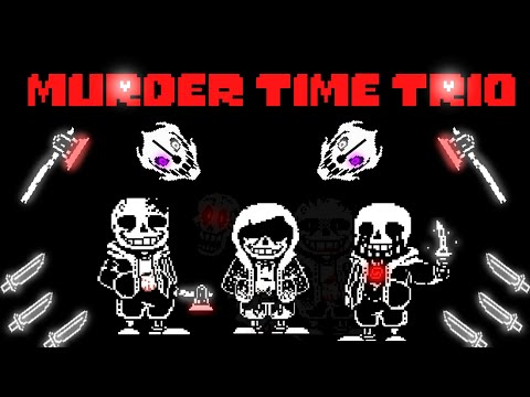 [Scratch] Murder Time Trio [Phase 1 Hard Mode & Phase 2 Demo] (Undertale Fangame)