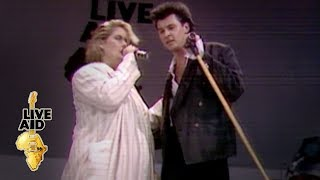 Paul Young / Alison Moyet - That's The Way Love Is (Live Aid 1985)
