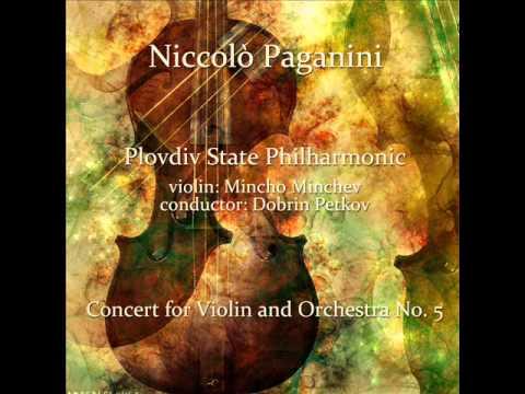 Niccolò Paganini: Concert for Violin and Orchestra No. 5 in A Minor