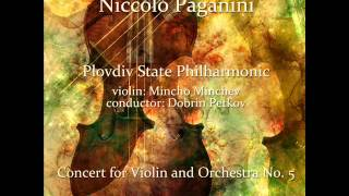 Niccolò Paganini: Concert for Violin and Orchestra No. 5 in A Minor