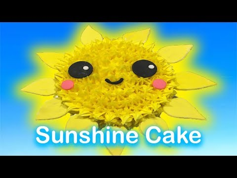 How to make: Cute Sunshine Cake