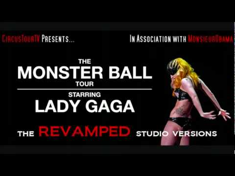 Lady Gaga - Just Dance - The Monster Ball Revamped Studio Versions (download Mp3)