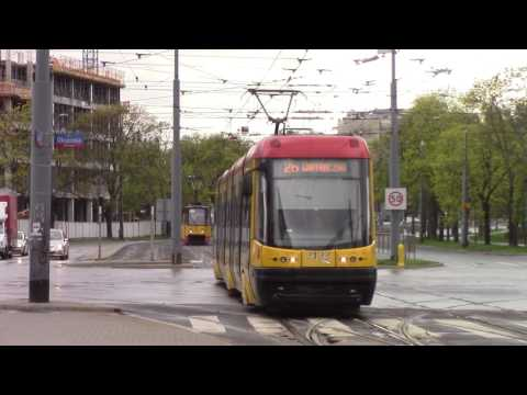 Trams in Warsaw Tramwaje w Warszawie Straßenbahnen Warschau Трамваи в Варшаве