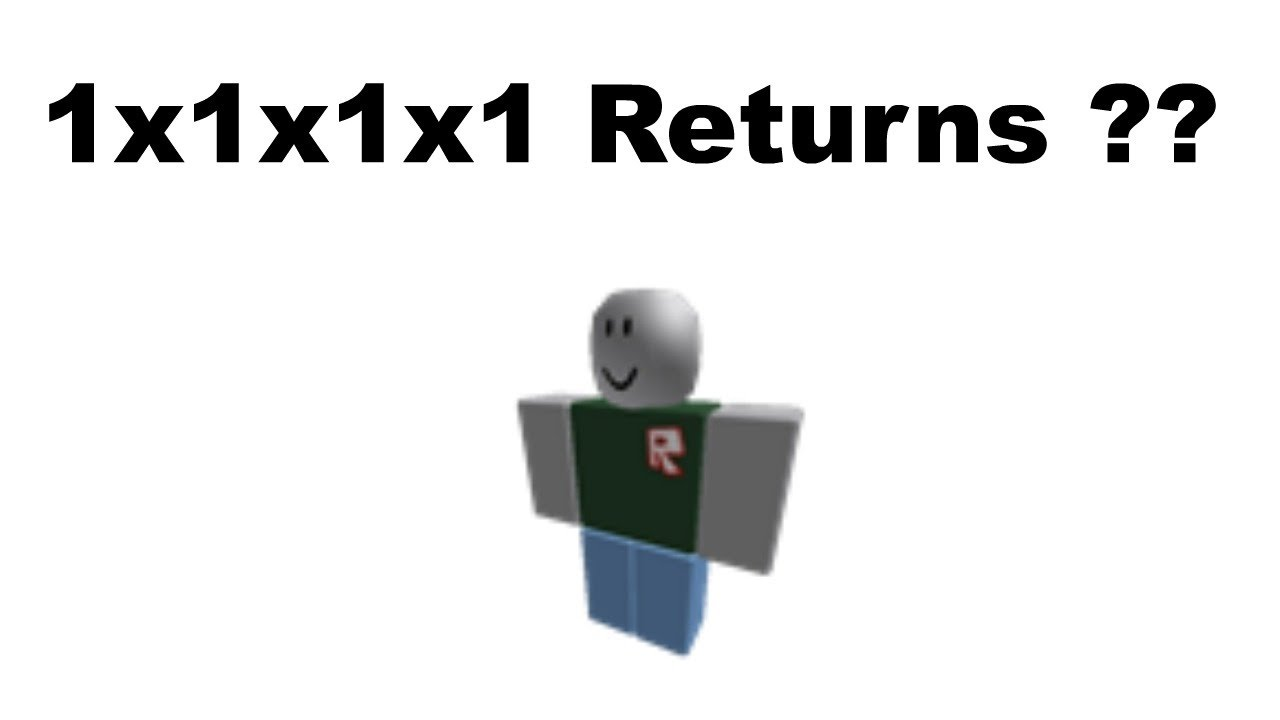 I Found 1x1x1x1 On Roblox The Biggest Hacker On Roblox Youtube