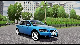 City Car Driving 1.5.5 - Volvo C30 2009 2.5T | + Download [ LINK ] | 1080p & G27