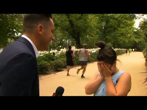 Jogger'Jogger's Hilarious Response To Australian Reporter's Question
