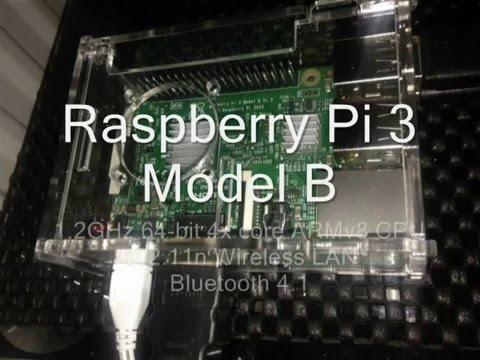 Amateur Radio Data Modes running on the Raspberry Pi 3