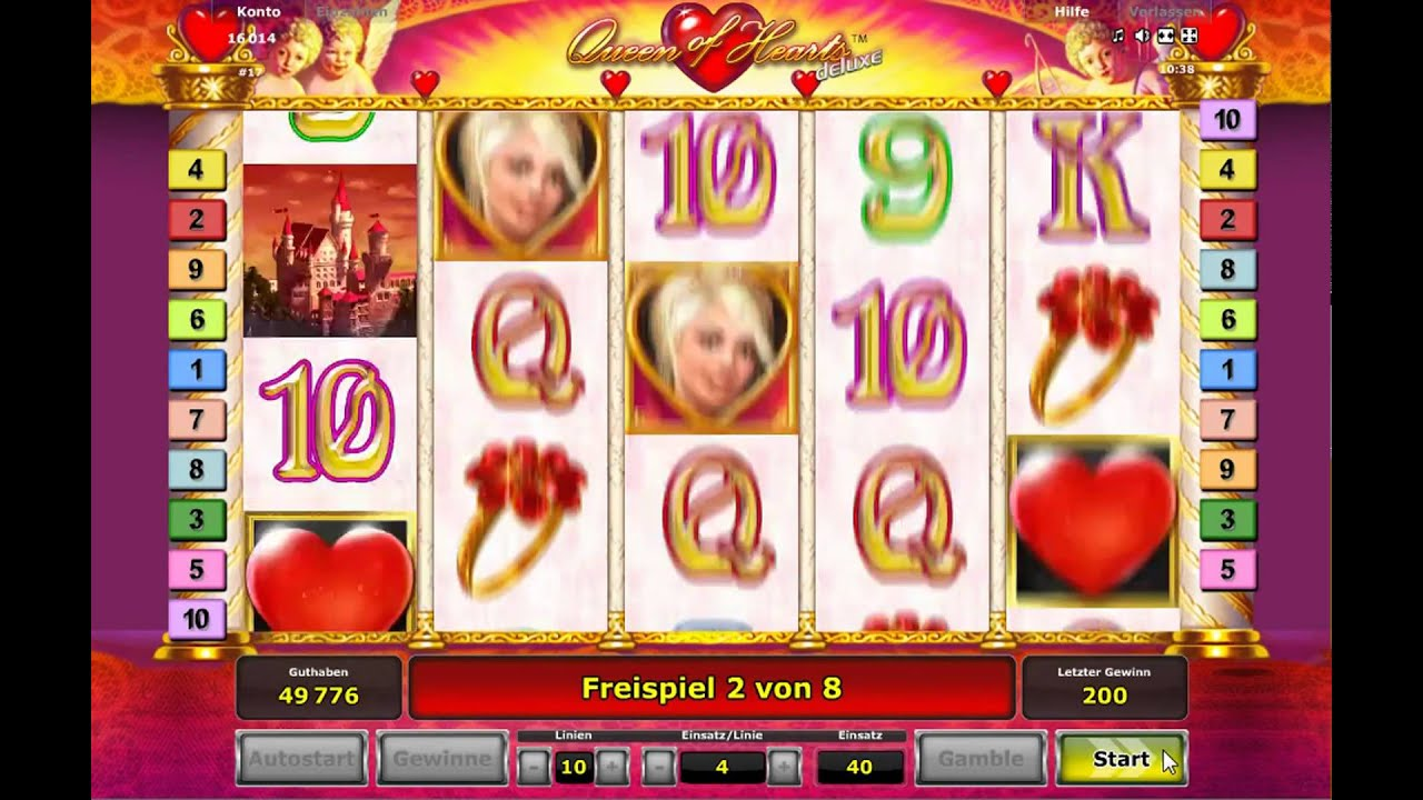 Queen Of Hearts Online Spielen