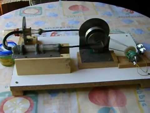 Motor stirling con generador electrico youtube - Motor electrico para persianas ...
