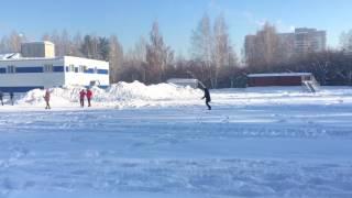 Обычный урок физкультуры в россии