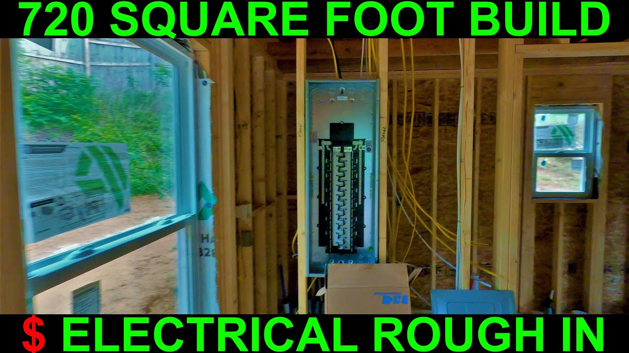 How much does it cost to wire a house (New Construction - Electrician)