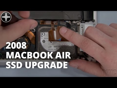 How to change a macbook air hard drive