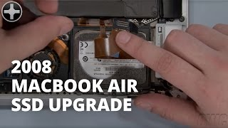 How to Upgrade the SSD in a MacBook Air (2008)