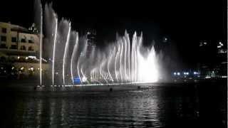 The Dubai Fountain - Mon Amour (During the Ubian Reunion Tour)