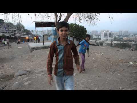 Fun time with Mumbai Slum Boys