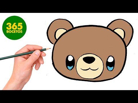 Como Dibujar Oso Kawaii Paso A Paso Dibujos Kawaii Faciles How
