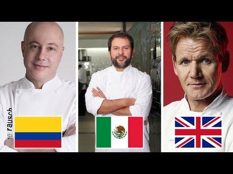 El Mejor Chef de cada País | ISO TOPS