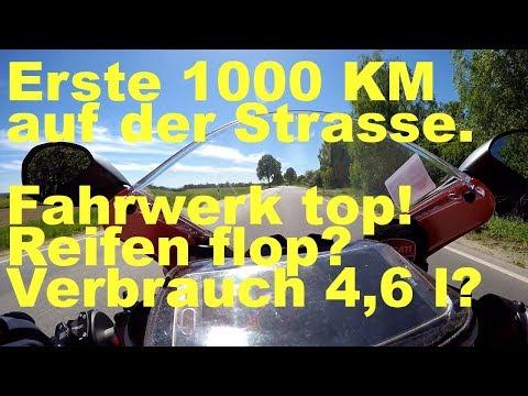 Ducati Panigale V4 - meine Erfahrung, Test, Setup der ersten 1000km auf der Strasse.