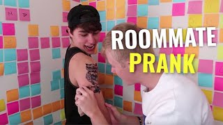 COVERING MY BODY IN TATTOOS PRANK!!