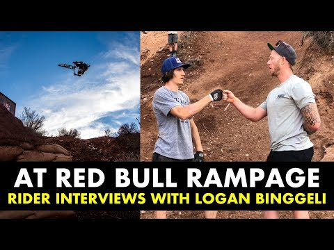 RED BULL RAMPAGE 2018 - Rider & Digger Interviews with Logan Binggeli