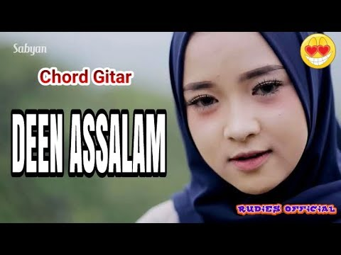 Guitar chord deen assalam by sabyan