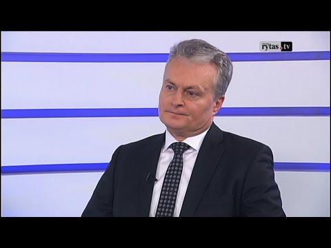 Lietuva tiesiogiai. G. Nausėda: ekonomika nebus svarbiausias Vyriausybės prioritetas