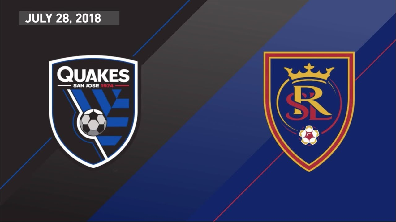 HIGHLIGHTS: San Jose Earthquakes vs. Real Salt Lake | July 28, 2018