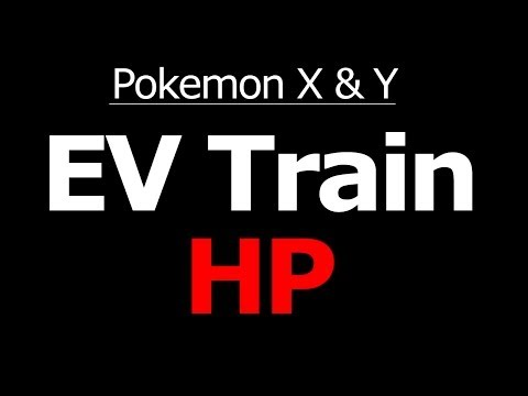 Where To EV Train HP In Pokemon X And Y Horde Battle