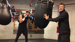 Alex Gvozdyk in Training Camp preparing for his fight March 17th ( must see ) beast mode
