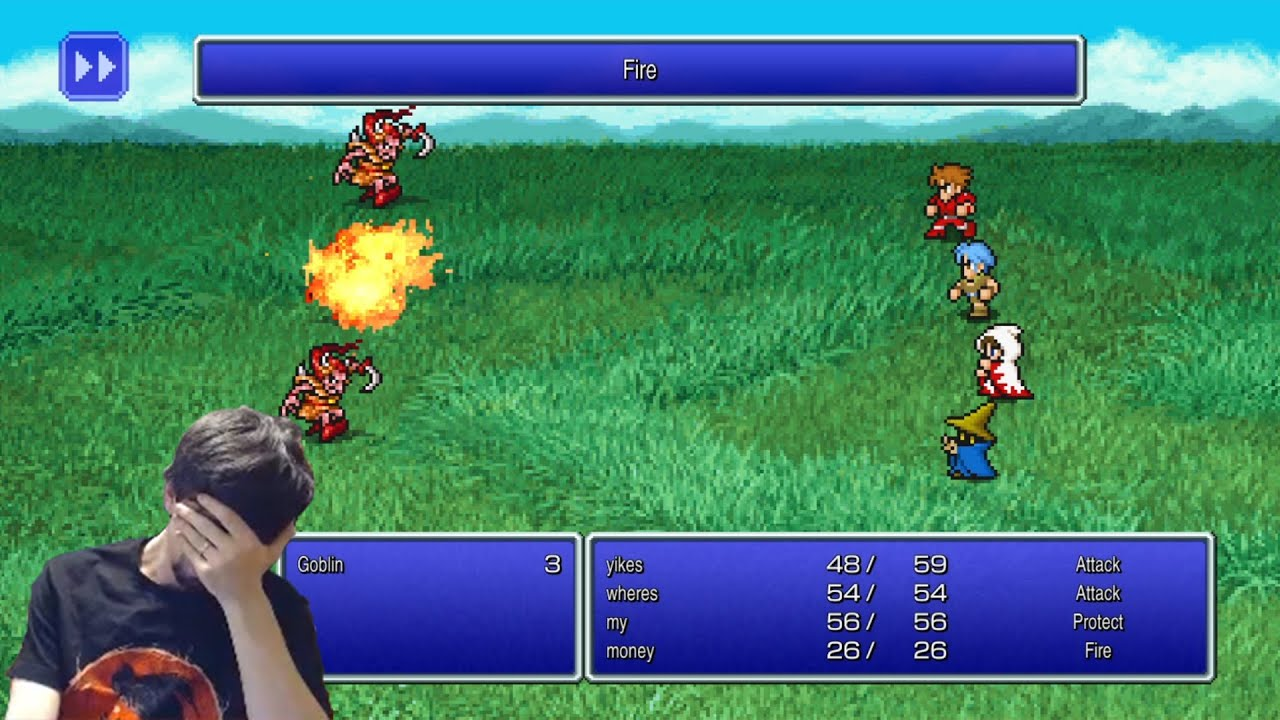 Final Fantasy Pixel Remaster is a waste of potential [4-8Live]