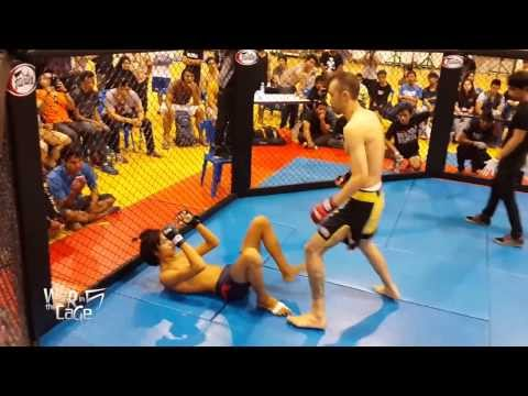 "War in the Cage 5 [Fight 4]: ""แม็กซิมัส vs Rush"" Featherweight (-145lb)"