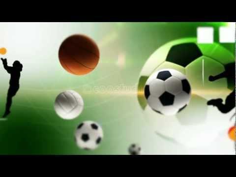 Hd sport video loop background footage
