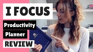 IFOCUS Planner Review | Best productivity planner for 2018