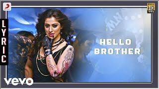 Irumbu Kuthirai - Hello Brother Lyric | Atharvaa, Priya Anand | G V Prakash