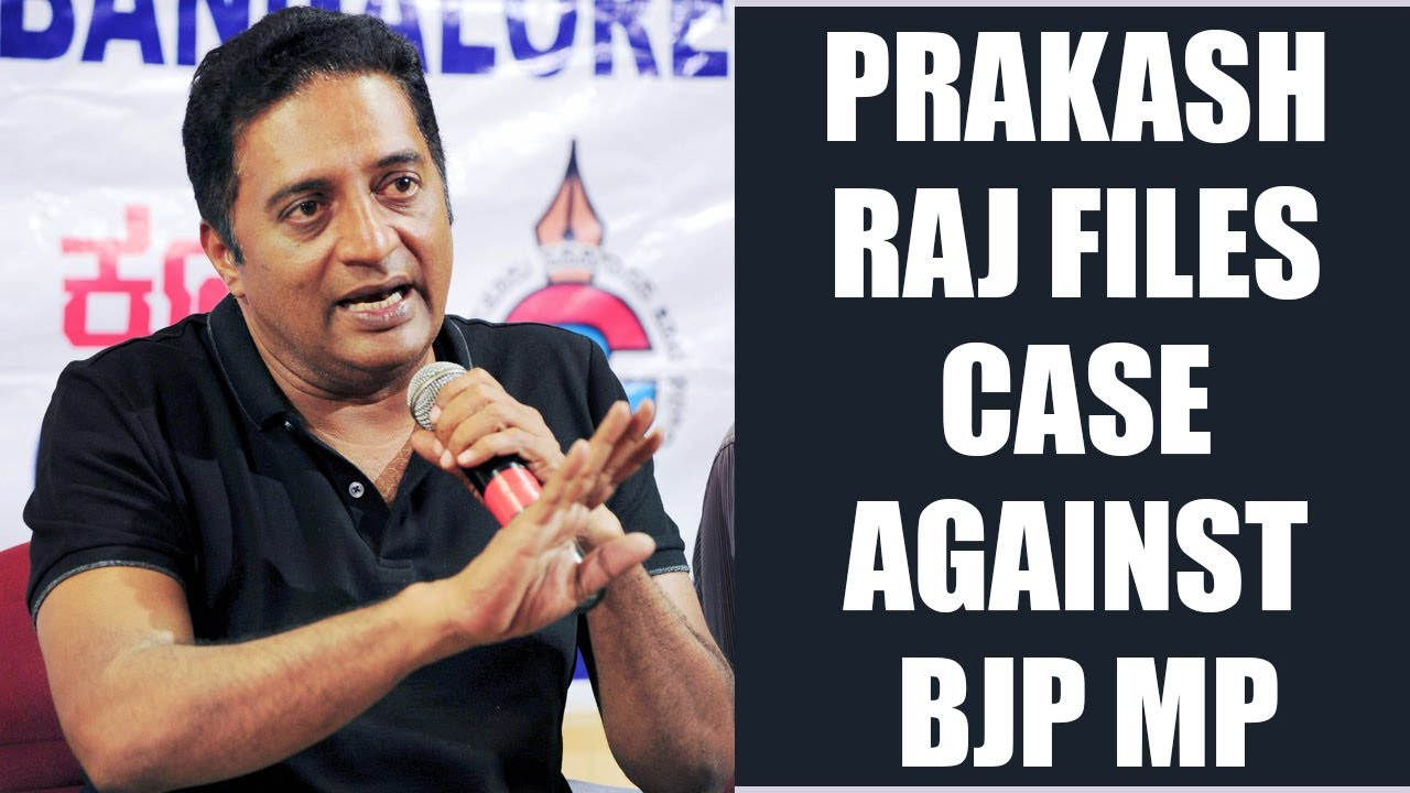 Prakash Raj Sends Legal Notice To Bjp Mp For Trolling Him Oneindia News