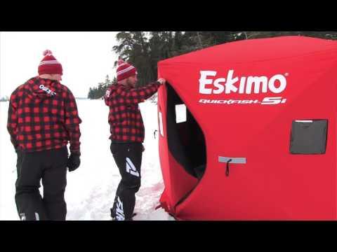Eskimo Ice Fishing Quickfish 5/5i Shelter