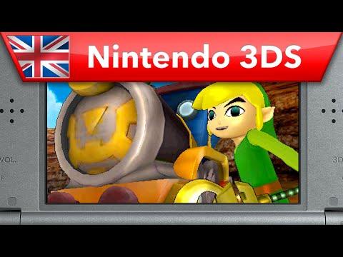 Hyrule Warriors: Legends - Phantom Hourglass & Spirit Tracks Pack Trailer (Nintendo 3DS)