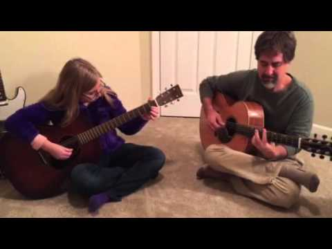 Father - Daughter Acoustic Guitar Christmas Duet