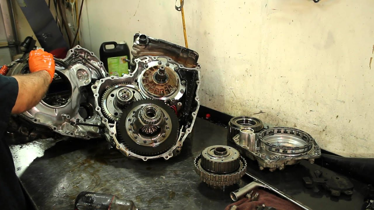 09a transmission - teardown inspection - vw jetta