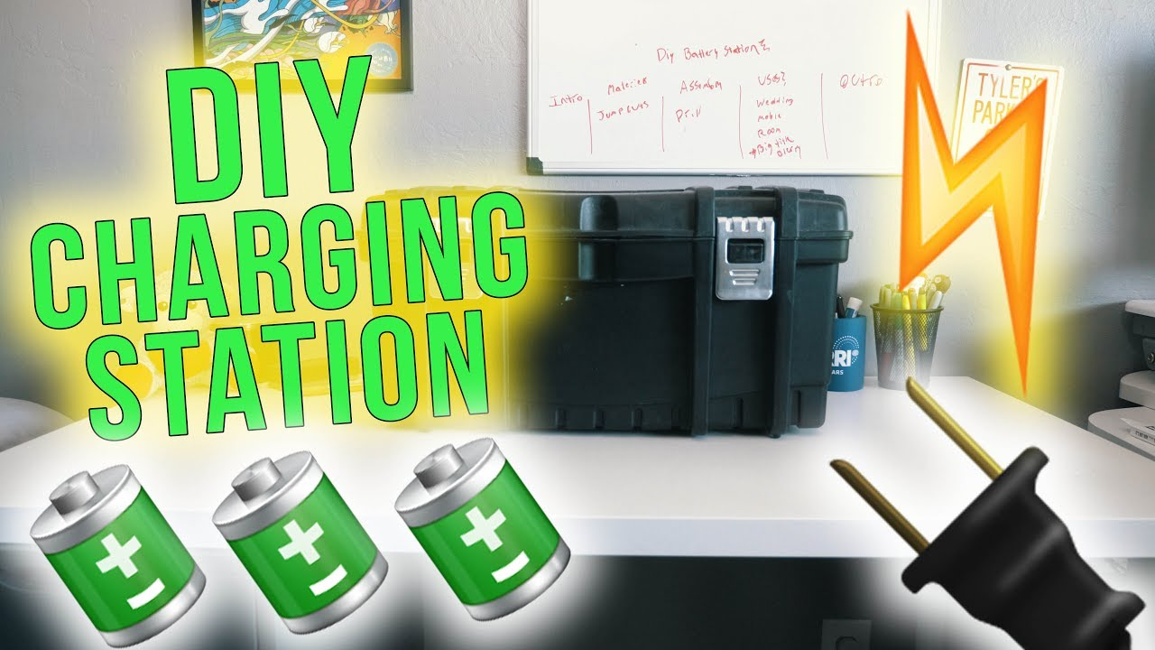 Cheap diy portable battery charging station youtube cheap diy portable battery charging station solutioingenieria Images