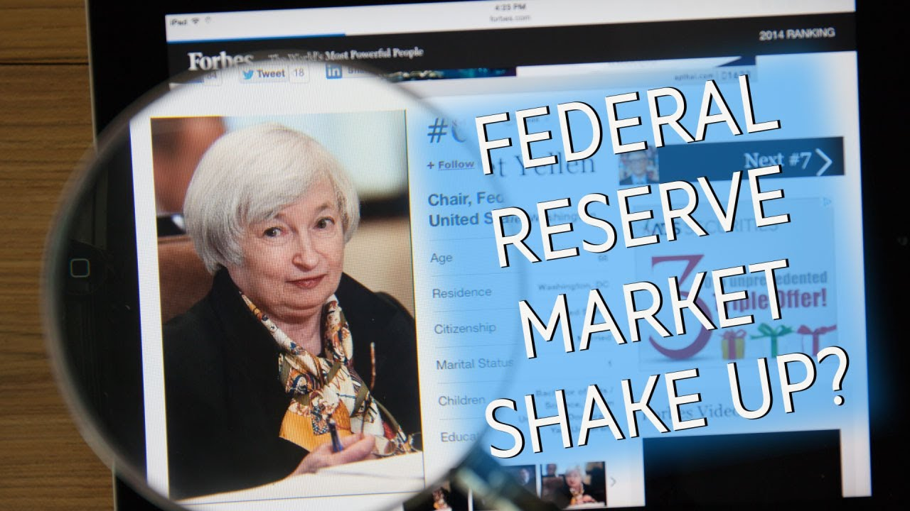 Fed Chair Shakeup